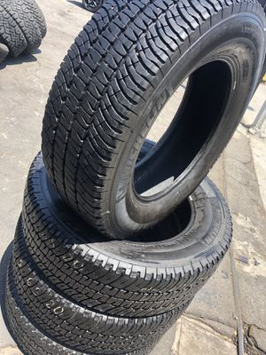 275/65R20 Michelin Tires (4 for $340) for Sale in Norwalk, CA