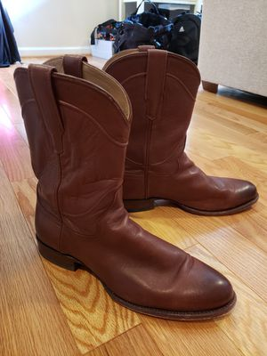 Tecovas Mens Calf Skin Boots size 11.5 for Sale in Frederick, MD