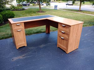 Corner Desk with Storage for Sale in New Albany, OH