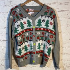 VINTAGE CARDIGAN XL CHRISTMAS HOLIDAY SWEATER for Sale in Mokena, IL