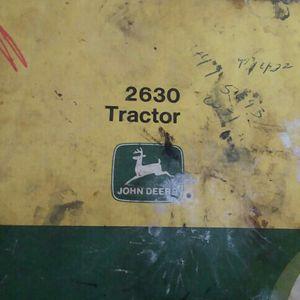 John Deer 2630 Tec. Manual for Sale in Valparaiso, IN