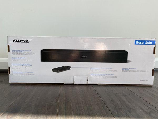 Bose Solo Bluetooth TV Speaker