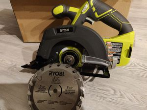 Ryobi 5 1/5 in Circular Saw (Tool Only) for Sale in El Monte, CA