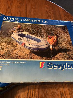 2 Person SEVYLOR BOAT 6ft 6 inch. for Sale in Lombard, IL