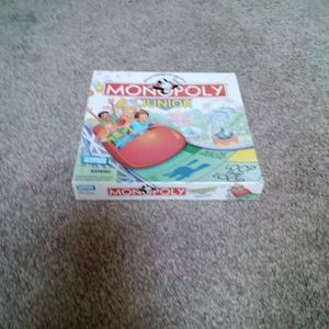 Monopoly Junior For Kids for Sale in Beaverton, OR
