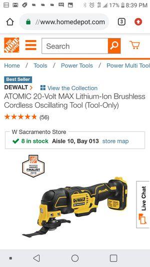 Dewalt 20v brushless atomic multi tool ( tool only for Sale in San Jose, CA