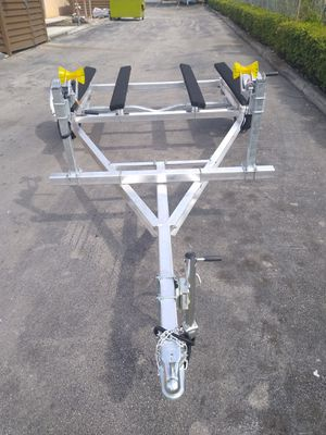 DOUBLE ALUMINUM JETSKI TRAILER READY FOR PICKUP 5 YEARS WARRANTY for Sale in Biscayne Park, FL