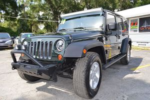 2010 Jeep Wrangler Unlimited for Sale in Tampa, FL