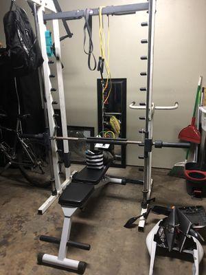 Smith machine/ squat rack for Sale in Modesto, CA