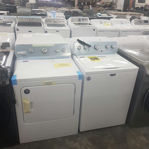 NEW! FACTORY WARRANTY Maytag washer dryer set for Sale in Ontario, CA