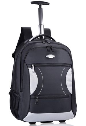 Rolling Backpack, Wheeled Backpacks Roller Backpack for Laptop up to 15 Inch for Sale in Jenkintown, PA