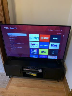 """TCL 48"""" Roku Smart TV - 1080p High Definition for Sale in Chicago, IL"""