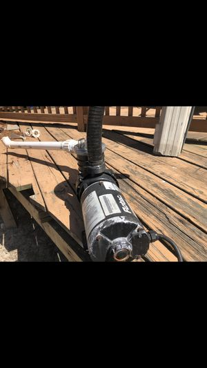Above ground pool pump for Sale in Norfolk, VA