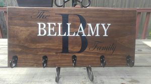 Custom family name wall hanging for Sale in Myrtle Beach, SC