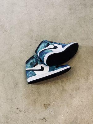 """Air Jordan 1 w """"tie dye"""" size 8w and 8.5w for Sale in Seattle, WA"""