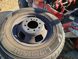 Dodge ram 3500 dually rim and tires for Sale in Compton, CA