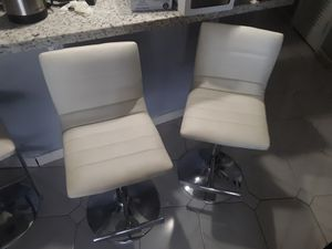Bar chairs set of 2 for Sale in North Miami Beach, FL