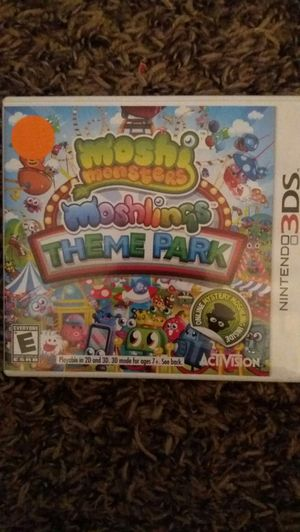 MOSHI MONSTERS: MOSHLINGS THEME Park (Nintendo 3DS) NEW! for Sale in Lewisville, TX
