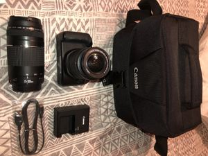 Canon eos Rebel T6 camera for Sale in Fresno, CA