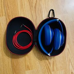 Beats By Dre Studio Wired Headphones Navy Blue for Sale in Escondido,  CA