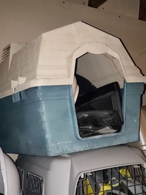 Dog house fits small to medium for Sale in Oakland, CA