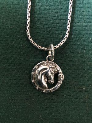 Brighton Gallop Charm horse necklace for Sale in Rainier, WA