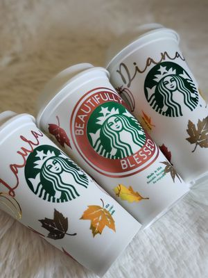 Customized starbucks cups for Sale in El Cajon, CA