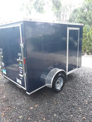 2018 10x6 . Enclosed trailer brand new for Sale in Milford, CT