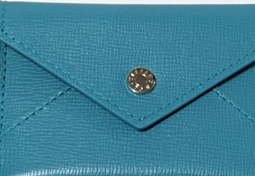 RARE SMALL Tiffany Credit Card Case / Envelope Blue Leather New for Sale in Lynnwood,  WA