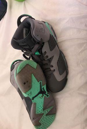 Nike Air Jordan 6 retro GG cement green glow for Sale in San Diego, CA