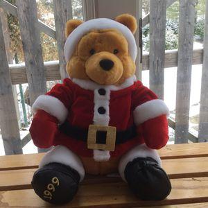 1999 Disney Winnie The Pooh Santa Bear for Sale in Naperville, IL