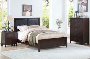 3-pcs Bedroom Set on Sale Only At Elegant Furniture 🎈🛋🛏 for Sale in Fresno, CA
