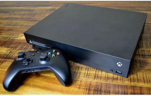 XBOX ONE X WITH 17 GAMES for Sale in Knoxville, TN