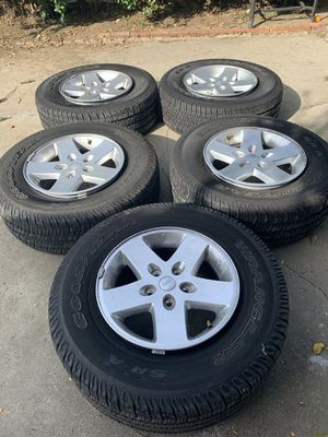 Jeep Wrangler Stock Wheels and Tires for Sale in Whittier, CA