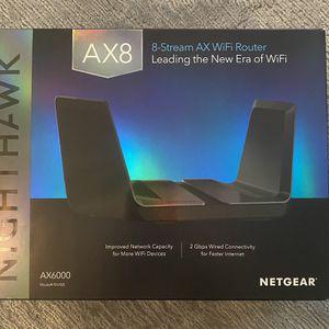 NETGEAR NIGHTHAWK AX8 AX6000 RAX80 for Sale in Pearland, TX