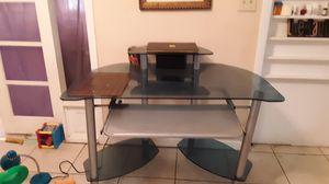 Glass desk for Sale in Lakeland, FL