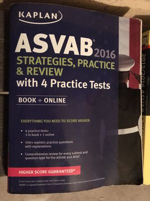ASVAB Practice test books for Sale in Tempe, AZ