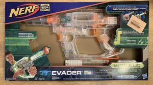 Nerf evader n strike modulus ghost ops glowing gun for Sale in Elgin, IL