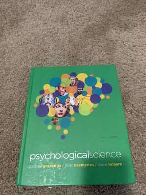Psychological science 4th edition for Sale in Puyallup, WA
