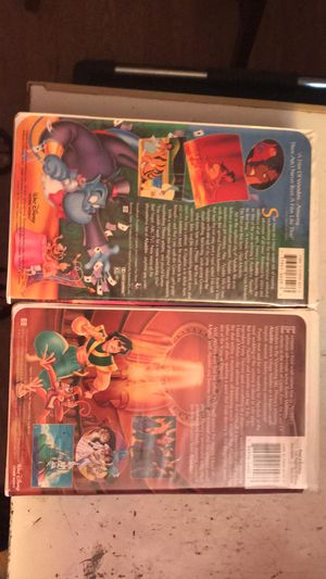 Ment condition Alden and Alden the king of Thieves VHS set collectors sets for Sale in Trafford, AL