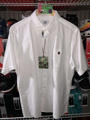 White Bape Polo Tee - Size XL for Sale in Pacifica, CA