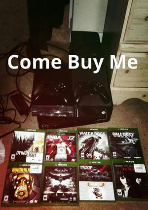 Xbox 1 and games for Sale in Norfolk, VA