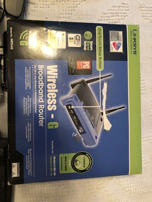 Linksys Router Bundle like new and many pc parts for Sale in Hummelstown, PA