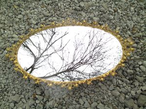 Gold plated mirror. for Sale in Shepherdsville, KY