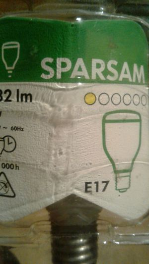 Used, New Ikea Sparsam light bulb (E17-182lm) for Sale for sale  Brooklyn, NY