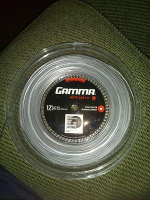 GAMMA MOTO-SOFT 17 GAUGE TENNIS STRING REEL for Sale in Phoenix, AZ