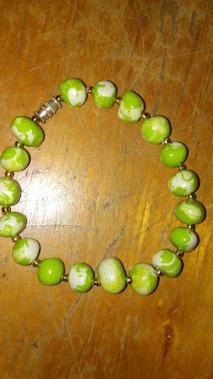 Antique Green Glass bracelet for Sale in Austell, GA