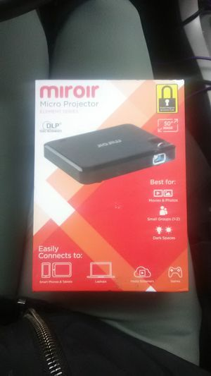 Miroir micro projector for Sale in Richland, WA