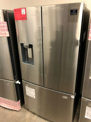 New Stainless Steel Counter Depth Refrigerator 1 Year Warranty Included for Sale in Chandler, AZ