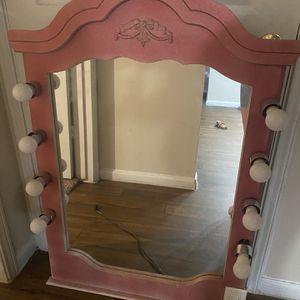 Pink Huge Vanity Mirror !! for Sale in San Antonio, TX